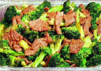 Party Tray Beef Broccoli
