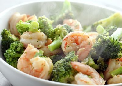 Shrimp w. Broccoli