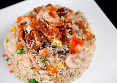 Sea Eel & Shrimp Fried Rice