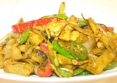 Thai Spicy Basil Chow Fun