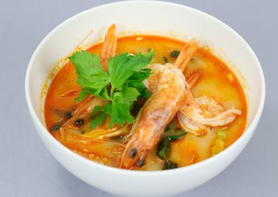 Thai Tom Yum Shrimp Soup